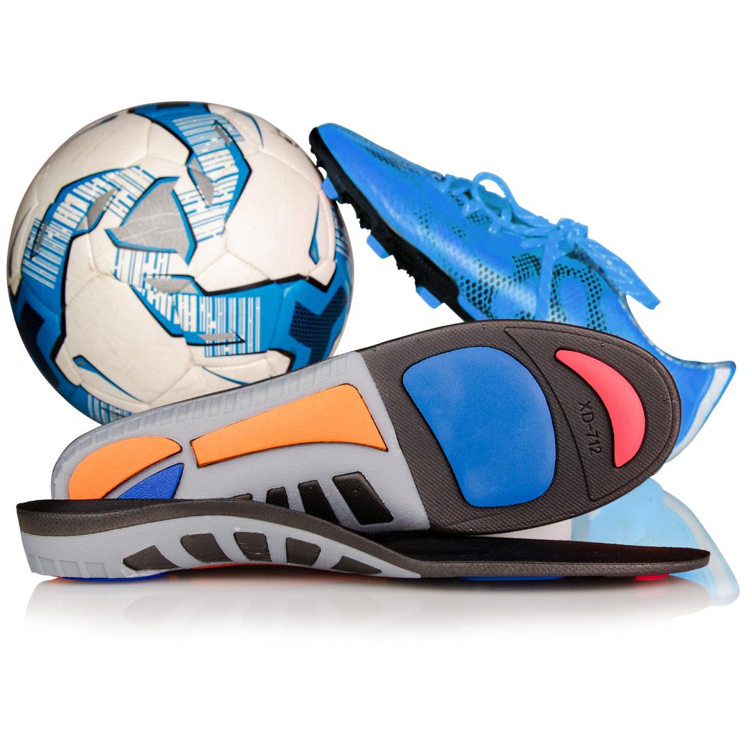 Skoinlägg för fotboll