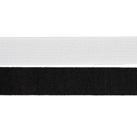 Resår stabil vävd vit 25mm