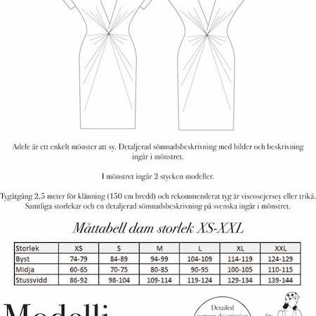 Adele – Klänning med twist