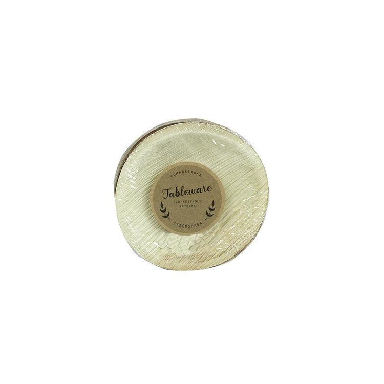 Tallrik Palmblad 6-pack