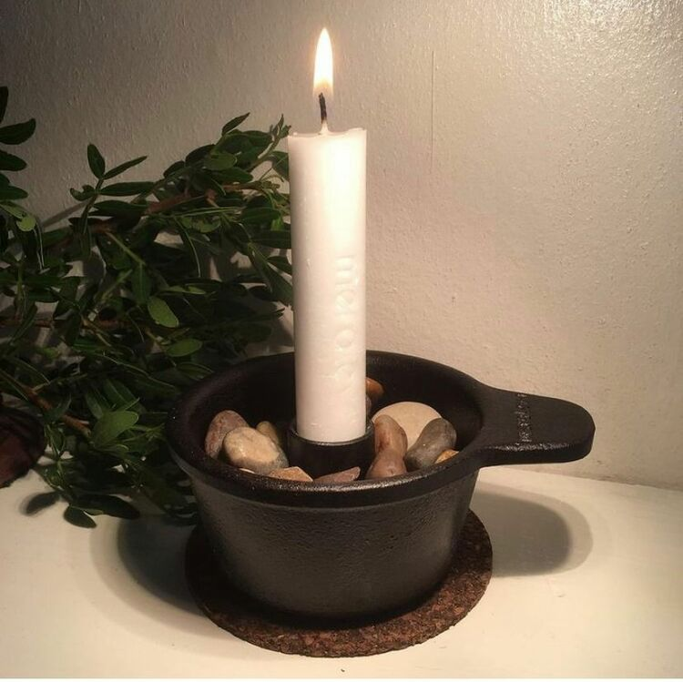 INSATS för smala ljus till RELJUSE och RELJUSE MARINE gjutjärnskopp
