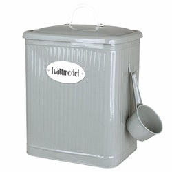 Plåtburk Hugo Tvättmedel Grön