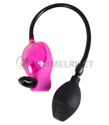 Pump, Vibrerande vaginapump – rosa