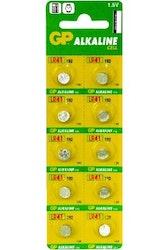 Batterier LR41 5pack