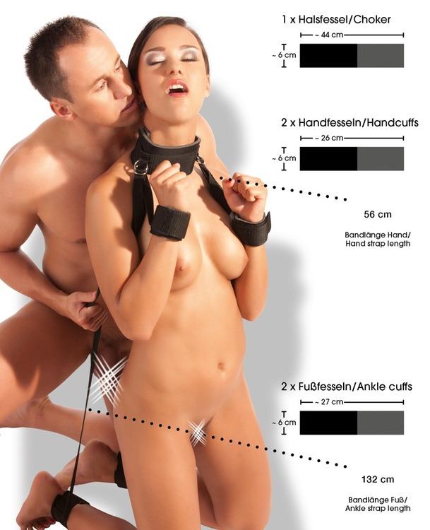 Bondage - Hals,hand och fot