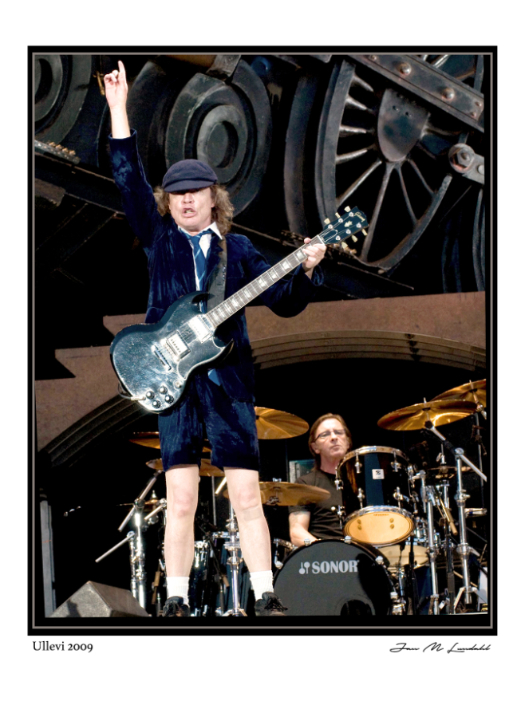 Angus Young - AC/DC Ullevi