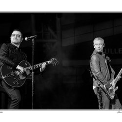 U2 - Bono & Adam Clayton