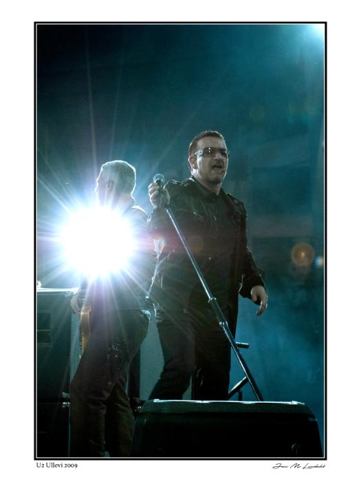 U2 -- Bono & Adam Clayton
