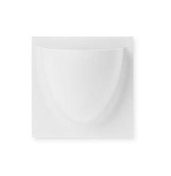 Vertiplants Mini veggpotte, hvit