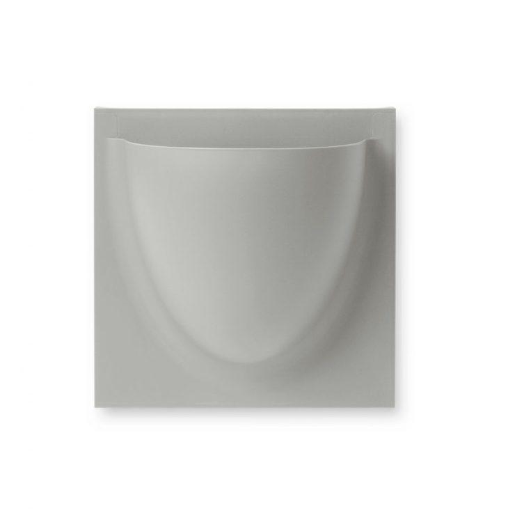 Vertiplants Mini veggpotte, grå