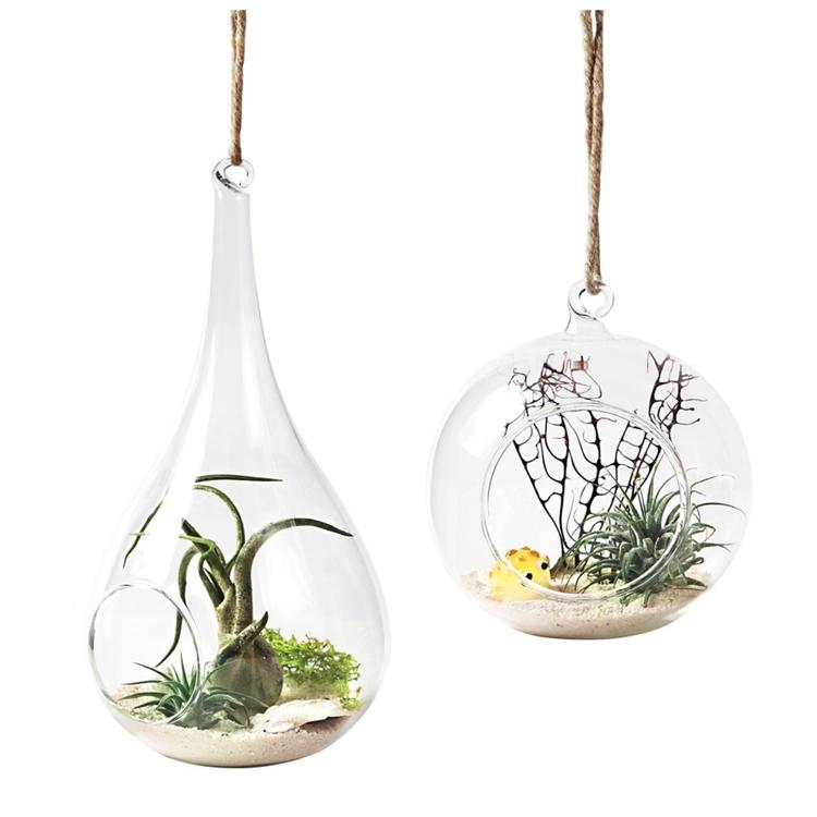 Planteholder / lysestake, dråpeformet