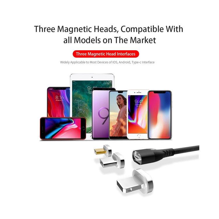 Magnetisk lader m/ 3 plugger