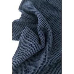 Waffle håndkle, blå