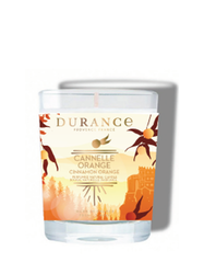 Durance JULE duftlys, appelsin & kanel. 75g
