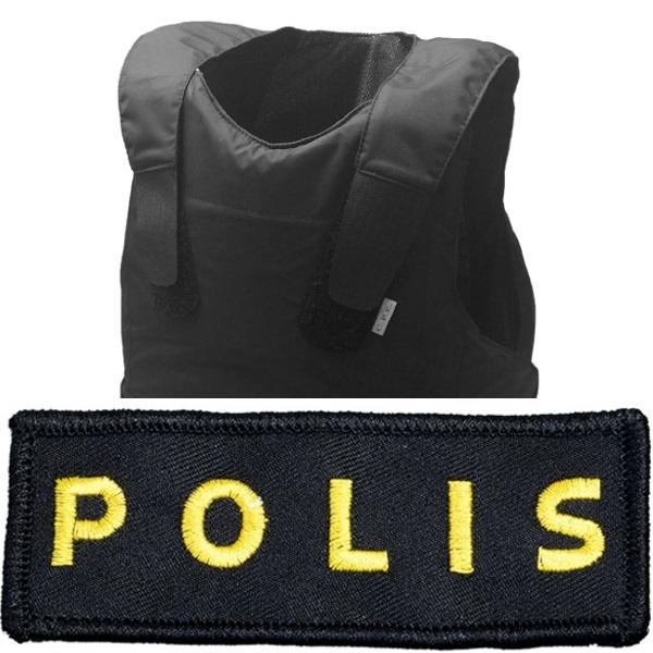 Skyddsväst Polis - VAKTBUTIKEN.SE