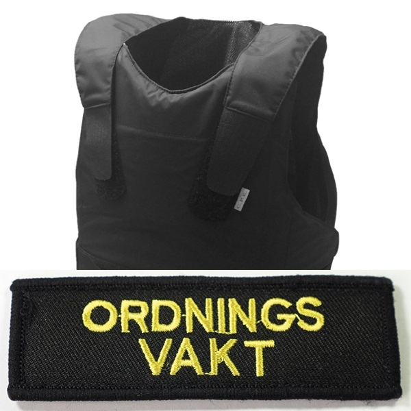 Skyddsväst Ordningsvakt - VAKTBUTIKEN.SE