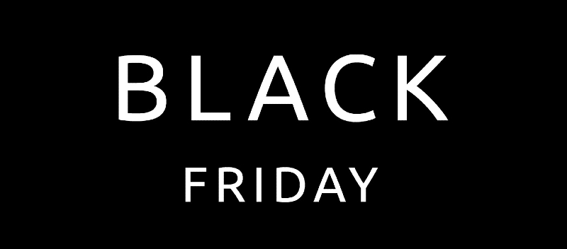 BLACK FRIDAY - Hela November hos oss!