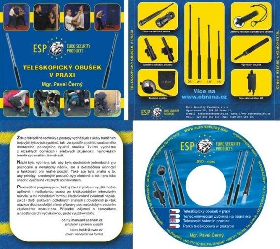 ESP Instruktions DVD - Teleskopbatong