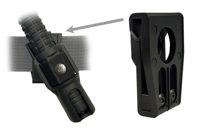 """ESP 23"""" Teleskopbatong i härdat stål inkl. hölster"""