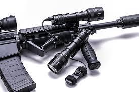 NEXTORCH WL50 IR Weapon Flashlight - Vapenlampa 860LM