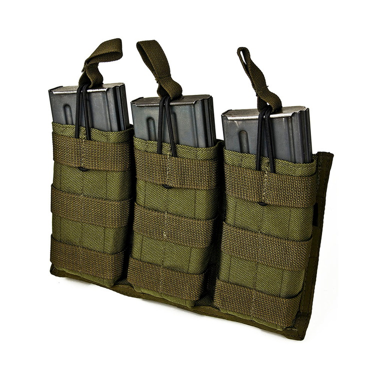 Tactical Tailor 5.56 Triple Mag Panel 30rd - Flera färger
