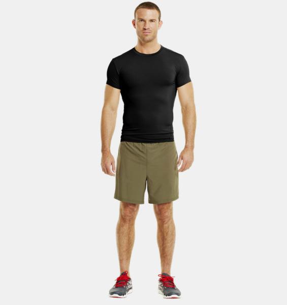 UNDER ARMOUR Tactical T-shirt - Black