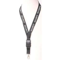 "COP Lanyard ""SECURITY"" Nyckelband"