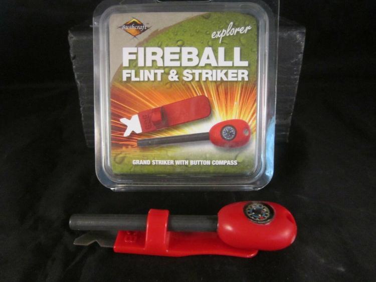 BCB Fireball Flint & Striker - Eldstål med kompass