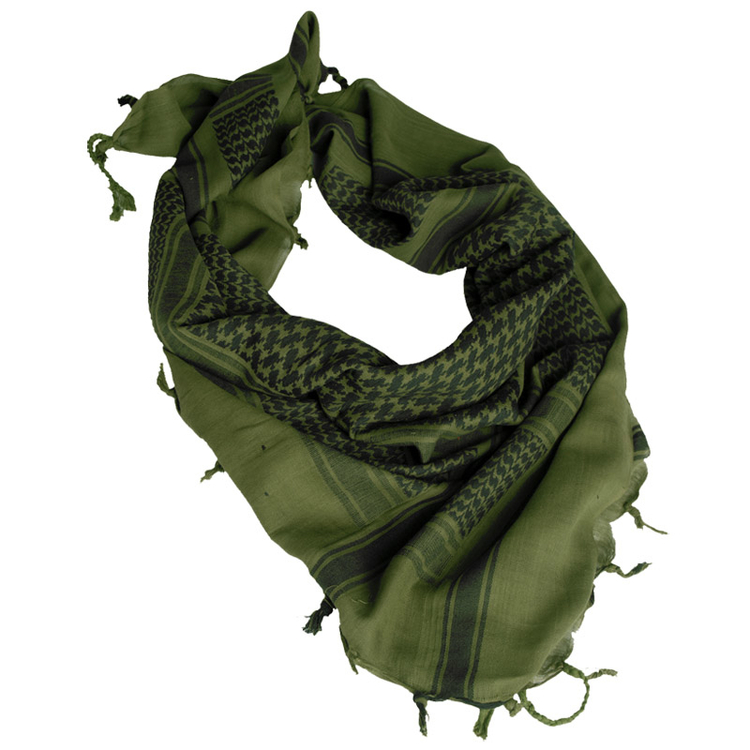 MIL-TEC by STURM Scarf Shemagh Olive/Black