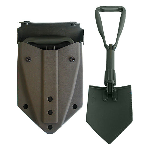 MIL-TEC by STURM Hand Shovel with double folding, Stainless steel