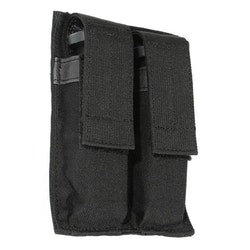 Blackhawk Hook Backed Double Pistol Mag Pouch - Black