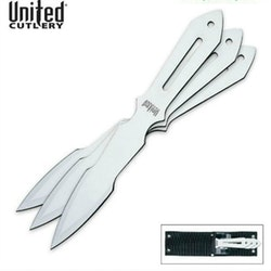 United Cutlery Lightning Bolt Thrower Triple Set w/Sheath