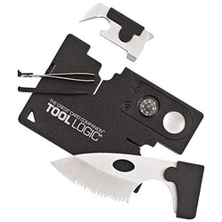 TOOL LOGIC Credit Card Companion With Lens/Compass
