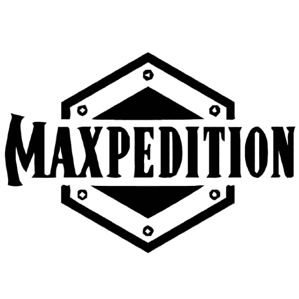 """MAXPEDITION 6"""" x 6"""" Padded Pouch - Black"""