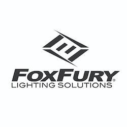 FoxFury Scout Clip Light – Vit & Röd LED