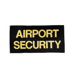 Airport Security Tygmärke
