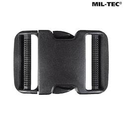 MIL-TEC by STURM BLACK BUCKLE LARGE - Klickspänne