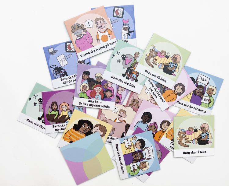 Rättvänt - ett barnrättsmemory