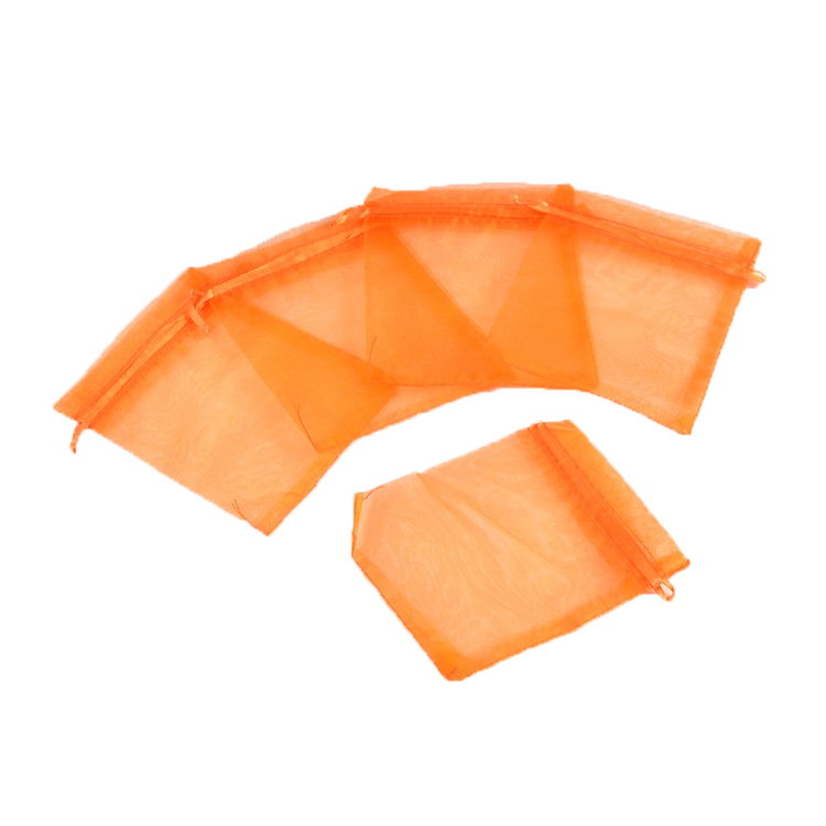 ORGANZAPÅSE 10*12  ORANGE 10-PACK