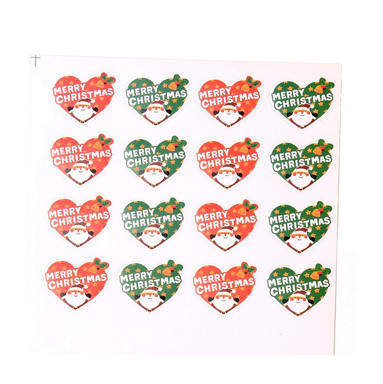 MERRY CHRISTMAS STICKERS
