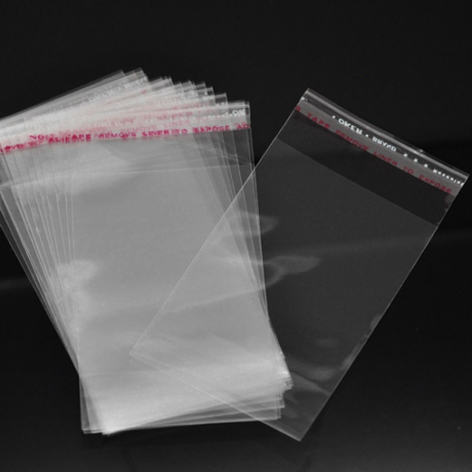 CELLOFANPÅSE  TRANSPARENT 11*6cm  2-pack
