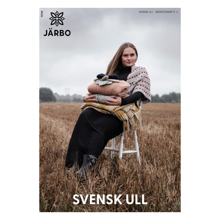 Järbo MÖNSTERHÄFTE 5 SVENSK ULL