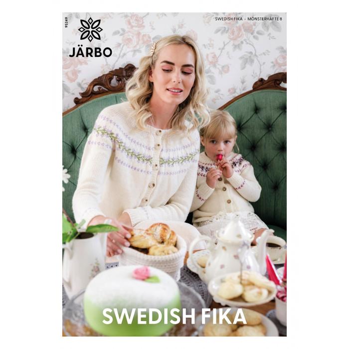 Järbo MÖNSTERHÄFTE 8 GRÖNA RUM