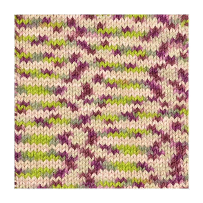 8878 Lilac/Rosé/Beige Print