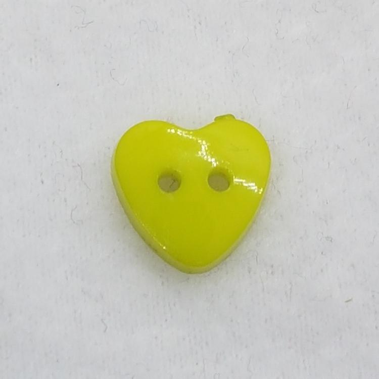 Plastknapp Hjärta