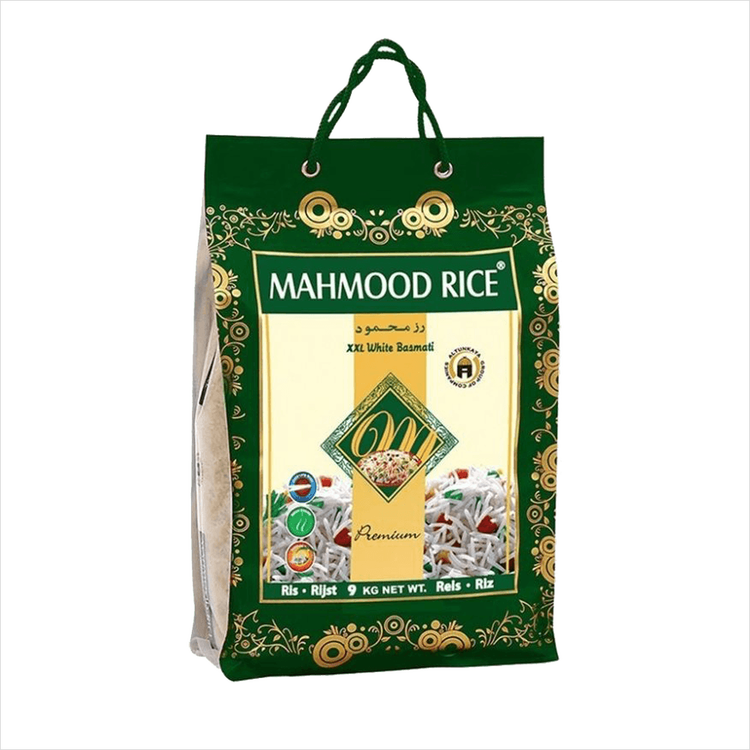 Ris XXL White Basmati Mahmood 9 kg
