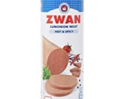 Zwan kyckling Luncheon HOT 850g