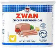 Zwan kyckling Luncheon 340g