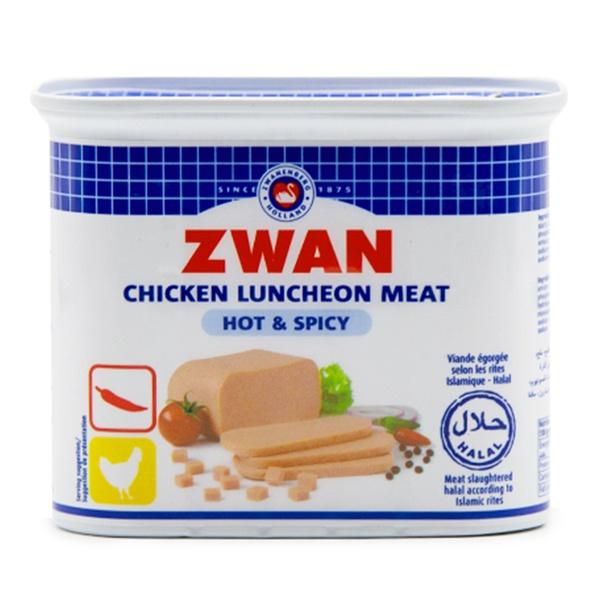 Zwan kyckling Luncheon HOT 340g