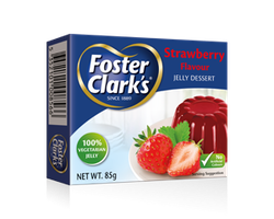 Foster & Clark Jelly Jordgubb 85g